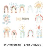 vector illustration in boho...   Shutterstock .eps vector #1785298298