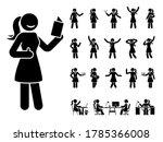 Stick Figure Woman Different...