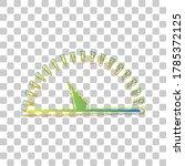 speedometer sign illustration.... | Shutterstock .eps vector #1785372125