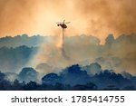Firefithing Helicopter Dropping ...