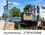 Lift Bridge In Plau  Germany....