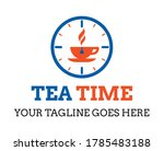 coffee tea time icon. premium...