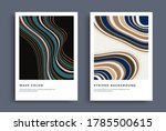 modern poster design with... | Shutterstock .eps vector #1785500615