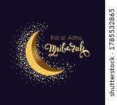 Eid Mubarak Arabic Calligraphy...