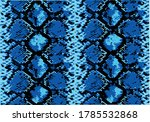 Snake Pattern Design Hand Draw...