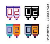 simple scoreboard icon design...