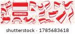 vector set of the national flag ... | Shutterstock .eps vector #1785683618