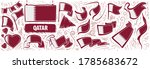 vector set of the national flag ... | Shutterstock .eps vector #1785683672