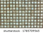 Old Square Background Mosaic ...