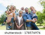 portrait of cheerful extended...   Shutterstock . vector #178576976