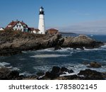Portland Lighthouse  Maine ...