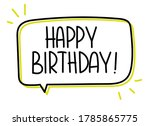 Happy Birthday Inscription....