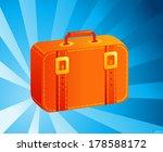travel bags vector illustration | Shutterstock .eps vector #178588172