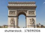 arc de triomphe   paris  france.   Shutterstock . vector #178590506