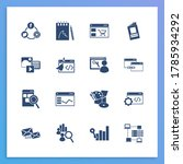 website icon set and sketchbook ...