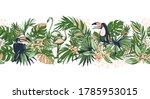 vector illustration tropical... | Shutterstock .eps vector #1785953015