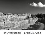 The Moat And Turrets Of The...