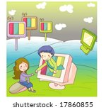 animation sketch | Shutterstock .eps vector #17860855