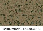vector seamless pattern of...   Shutterstock .eps vector #1786089818