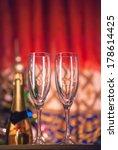 empty glasses | Shutterstock . vector #178614425