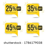 25  off  35  off  45 0ff and 55 ... | Shutterstock .eps vector #1786179038