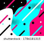 colored modern background in...
