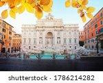 Restored Fountain Di Trevi In...