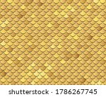seamless fish scales background....   Shutterstock .eps vector #1786267745