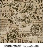 grunge military badges  ... | Shutterstock .eps vector #178628288