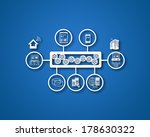 concept of esb and illustrates... | Shutterstock . vector #178630322