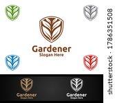 security gardener logo with... | Shutterstock .eps vector #1786351508