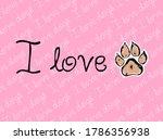 Pink Pattern Background Banner...