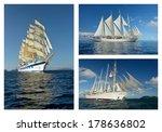 luxury cruise ships | Shutterstock . vector #178636802
