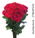 flower bouquet from red roses...   Shutterstock . vector #178639142