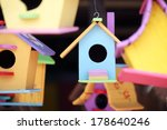 Colorful Bird House.