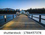 Pier On The Baltic Sea On The...