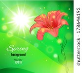 abstract background for spring... | Shutterstock .eps vector #178646192