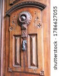 Old Metal Door Knocker On...