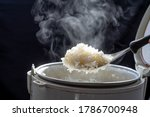Jasmine Rice Cooking In...