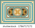 carpet print from fashionable...   Shutterstock .eps vector #1786717172