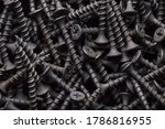 Black steel self tapping screws ...