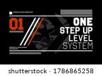 one step up level stylish... | Shutterstock .eps vector #1786865258