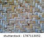 Dark Brown Wood Pattern Made...
