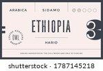 minimal label. typographic... | Shutterstock . vector #1787145218