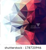 abstract modern background with ... | Shutterstock .eps vector #178720946