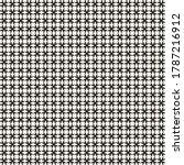 vector geometric seamless... | Shutterstock .eps vector #1787216912