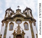 Facade Of The S O Francisco De...