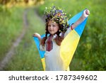 Ukrainian Child Girl In An...