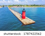 Aerial View Of The South Haven...