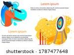 business management vector... | Shutterstock .eps vector #1787477648
